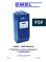 Acomel 4000 User Manual