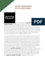 Meet the Violent Buddhists Starting Riots in Sri Lanka