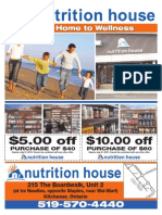 Nutrition House Flyer