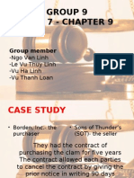 Group 9 Case 7 - Chapter 9