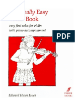 the Really Easy Violin Book- Piano Part