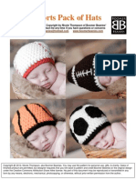 Boomer Beanies-Sports Pack Hats