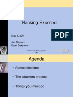 2004_05_05 Security Summit - Hacking Exposed Final - Copy