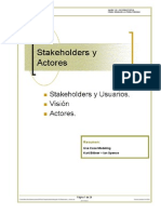 Stakeholders y Actores