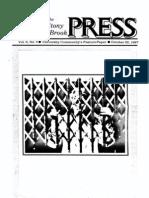 The Stony Brook Press - Volume 9, Issue 4