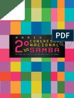 Anais Do 2º Congresso Nacional Do Samba V1