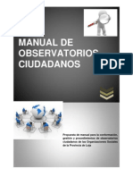 Manual de Los Observatorios Scpm Modificado