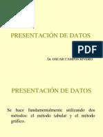 5.- Presentacion de Datos