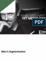 USA - Men's Grooming Segmentation Report 2013