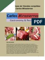 Recettes de Viandes Compilées Par Carlos Mirasierras
