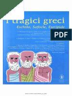I Tragici Greci Eschilo Sofocle Euripide Tutte Le Opere
