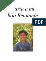 Carta a Mi Hijo Benjamin