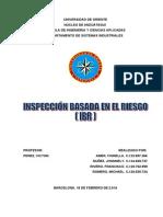 Inspeccion Basada en El Riesgo