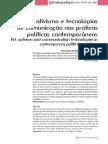Arte, ativismo e tecnologias  de comunicação nas práticas  políticas contemporâneas