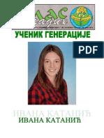 Глас младих - број 69, 28. јун 2014. - лист ученика ОШ ''Херој Радмила Шишковић''