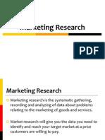 Market Resarch