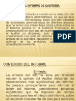 Estructura Del Informe de Auditoria Operativa