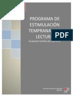 Antecedentes del Programa de Estimulación Temprana a la Lectura (1)