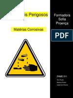 Matérias Corrosivas