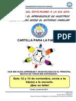Cartilla Familias Ece 2013