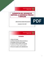 Informe de Gestion Publica