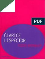 ROSENBAUM, Yudith. Clarice Lispector (Folha Explica)