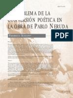Federico Schopf - El Problema de La Conversión Poética en La Obra de Pablo Neruda