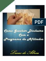 Como Ganhar Dinheiro Com o Programa de Afiliados