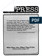 The Stony Brook Press - Volume 10, Issue 4