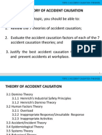 Accident Causations Safety Theories