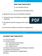 Accident and Their Effects