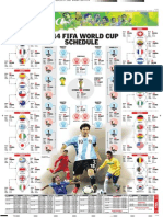 FIFA World Cup 2014 Schedule in Pdf1