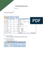 La Pestaña Archivo Y Referencia y Diseño de Pagina