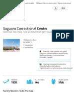 Saguaro Detention Center