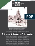 Suplemento Especial D. Pedro Gastão Tribuna de Petrópolis