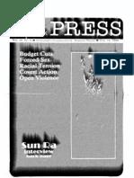 The Stony Brook Press - Volume 10, Issue 9