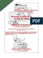 Pique-nique-Invitation Rhône-Rouma Nie - Pique-nique Le 11 Juillet