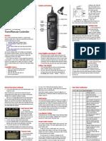 Canon TC-80N3 Remote
