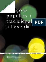 Cancons Populars Tradicionals Lescola