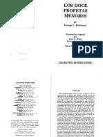 George Robinson - Los doce profetas menores.pdf