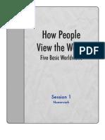 SW - Session 1 - Homework