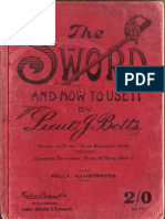 The Sword and How to Use It - J. Betts 1908
