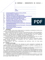 702_encargos Sociais Nas Empresas – Demonstrativo de Cálculo – Procedimento