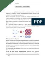 Unidad 6 Cristalografía Estructural