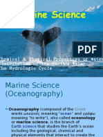 SCE 201 (Marine Science)
