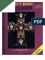 Guns'n Roses - Appetite for Destruction - Songbook