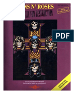 Guns'n Roses - Appetite for Destruction - Songbook
