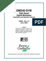 Dm240 Manual