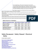 Substation Safety Clearances