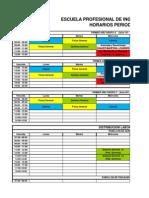 Horario 2014 a y Plan Fun